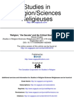 Studies in Religion_Sciences Religieuses 2011 Engler 419 42