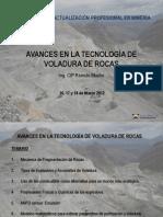 Curso Avances en la Tecnología de Voladura de Rocas