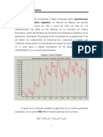 Macroeconometría Export. Arg