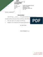 Nevyas v Morgan Contempt Post Trial Motion