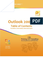 Microsoft Office Outlook 2007 TOC