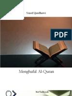 Menghafal Al-Quran Oleh Yusof Qardhawi