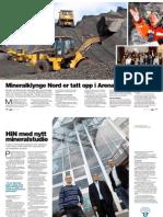 Bergverk og mineraler