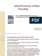 JESSOP The Political Economy of State Rescaling
