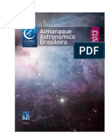Almanaque Astronômico Brasileiro 2013