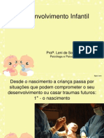 O Desenvolvimento Infantil