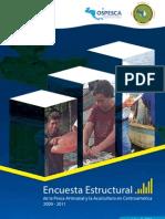 Encuesta Estructural de la Pesca Artesanal y la Acuicultura en Centroamérica 2009 - 2011