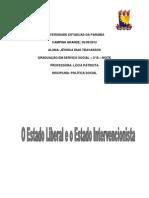 Estado Liberal e Estado Intervencionista_ Política Social