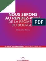 Lettre-livre de Bruno Le Roux