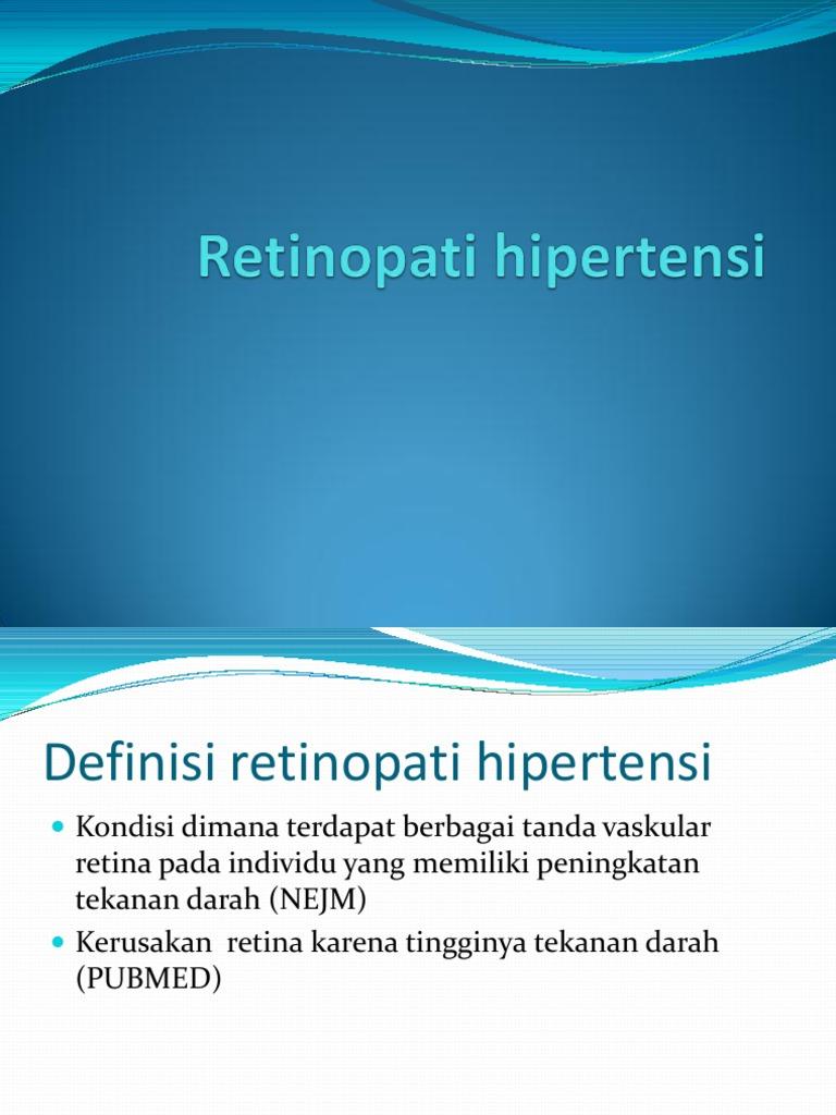 Retinopati hipertensi