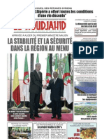 Journal El Moudjahid 14-01-2013