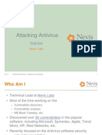 Attacking Anti Viruses 1