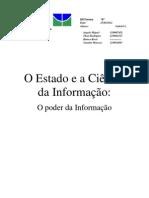 Estado como dominante da Informação