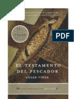 El Testamento Del Pescador Cesar Vidal