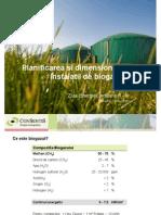 planificarea si dimensionarea unei instalatii de biogaz
