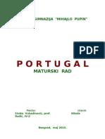 Portugal Maturski Rad