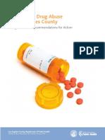 Prescription Drug Abuse in Los Angeles County