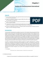 analyse de l'environnement international