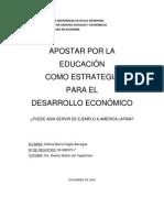 EDUCACIÓN COMO ESTRATEGIA