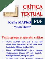 Crítica Textual de Mc 1,1 (υἱοῦ θεοῦ)