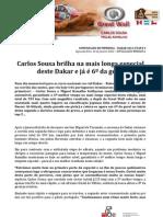 COMUNICADO DE IMPRENSA | CARLOS SOUSA - 9ª ETAPA DAKAR'2013