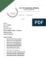 1-15-2013 City Council Final Agenda