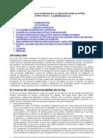 0. Derecho Procesal Desarrollo Tardio Peru