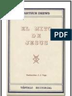 Arthur Drews - El Mito de Jesús