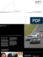 Aston Martin GT4 Challenge of Great Britain 2013 Brochure