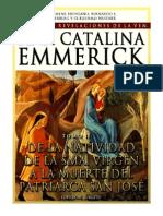Tomo 02 - De la Natividad de la Santísima Virgen a la muerte de patriarca San José - Beata Ana Catalina Emmerick - Visiones y Revelaciones