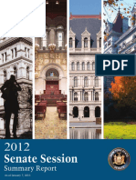 2012 Senate Session Summary Report