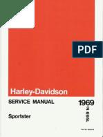 Harley-Davidson 1959-1969 Sportster. Service Manual