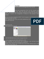 Basic Tutorial Paint Tool SAI