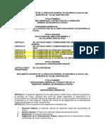 REGLAMENTO INTERIOR DE LA DIRECCIÓN GENERAL DE DESARROLLO SOCIAL DEL MUNICIPIO DE TULUM, QUINTANA ROO