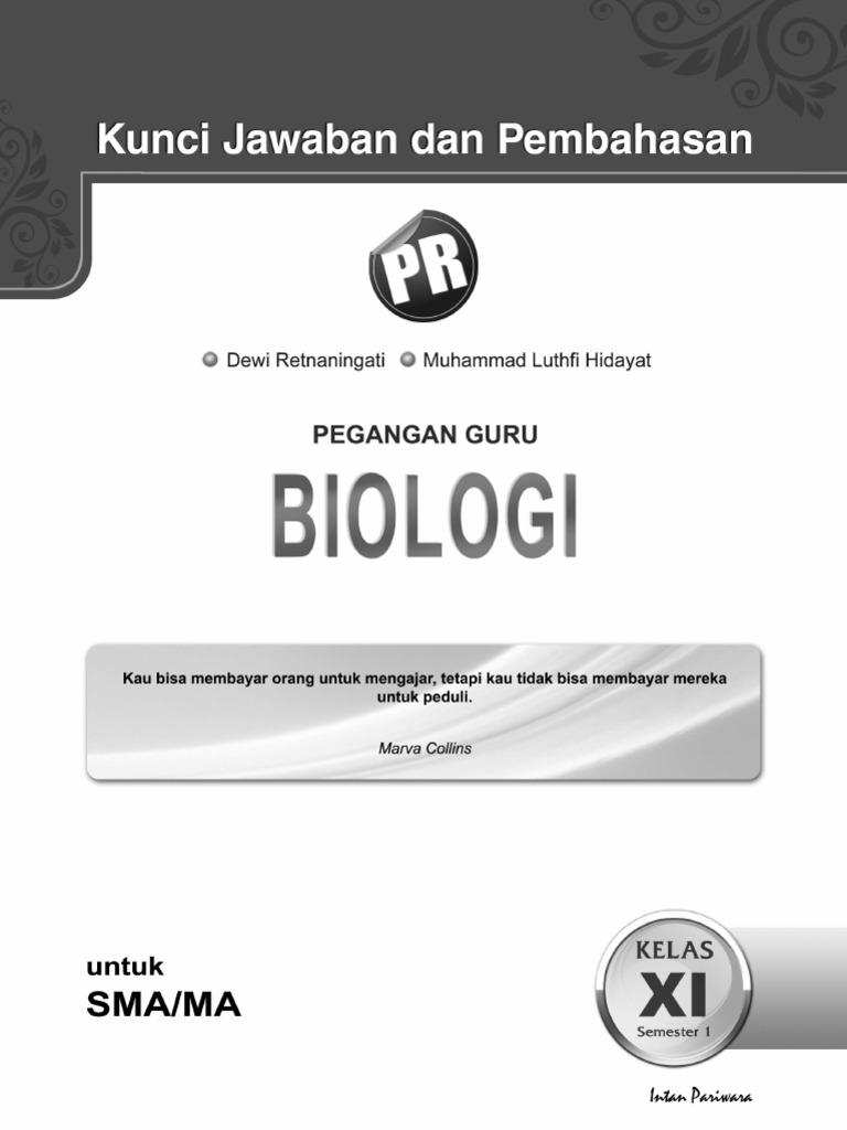 Kunci jawaban biologi ccuart Choice Image