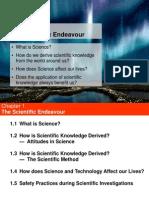 Chapter 1- The Scientific Endeavour