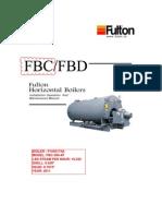 FBC/FBD Fulton Horizontal Boilers