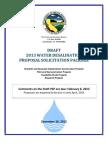 Draft 2012 DESAL PSP