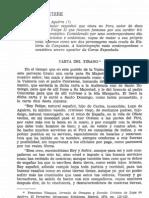 Carta del Tirano