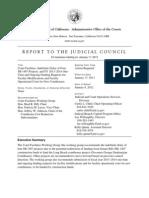 Judicial Council Jan. 17 Agenda Item Regarding SB 1407 Court Construction Funding
