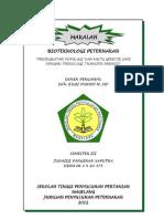 Makalah Bioteknologi Peternakan (Junaidi p Saputra)