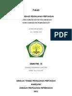 Tugas Komunikasi Penyuluhan Pertanian (Junaidi p Saputra)