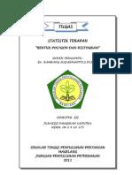 Tugas Statistik Terapan (Junaidi p Saputra)
