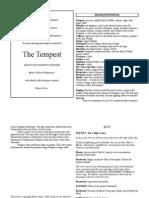 The Tempest - Cut Script