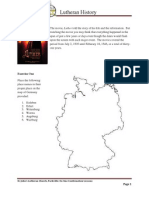 january homework - lutheran history