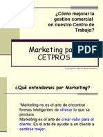 3 Marketing Para CETPROS