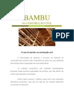 bambu na construção