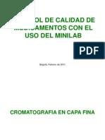 Control de calidad de medicamentos - Minilab