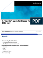 "A ""how to"" guide for Stress Testing the ERM way"