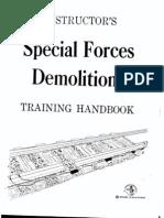 62046102 Instructors Special Forces Demolition Training Handbook